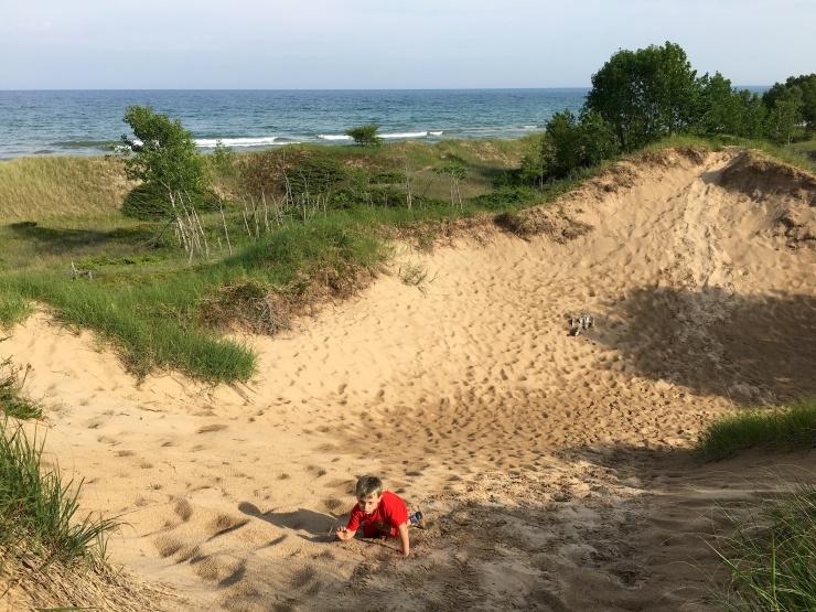 Dev on dunes.JPG